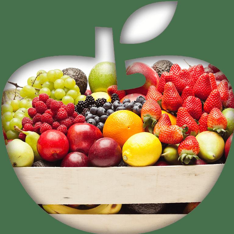 Ikona dostarczania owoców